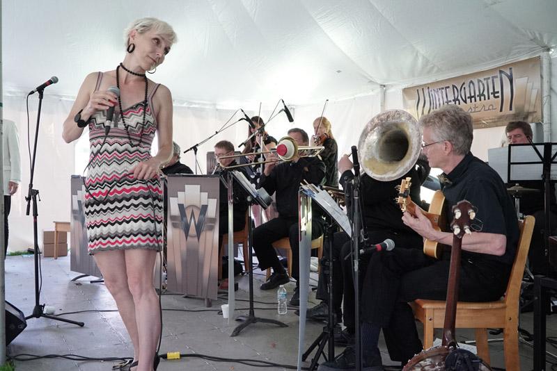 Tanya WIlls Wintergarten Orchestra Gatsby Garden Party Toronto