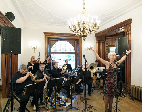 Tanya and the Wintergarten Orchestra at Berkeley Bicycle Club